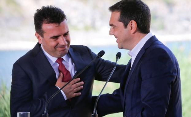 Министрите на външните работи на Македония и на Гърция Никола