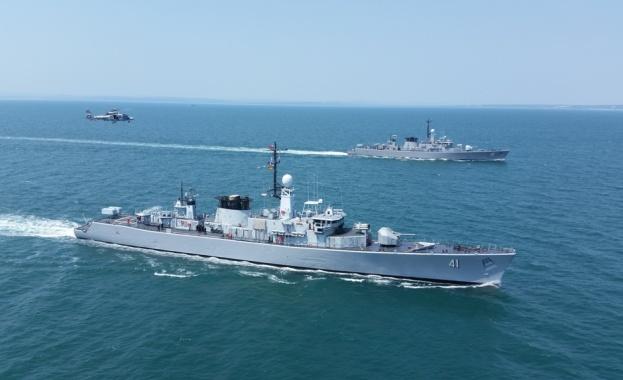 """Тактическото учение """"Черно море - 2018"""" на Флотилия бойни и"""