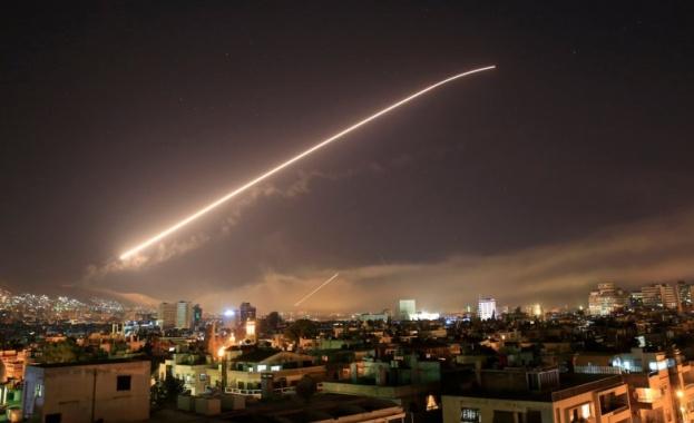 Самолети на ръководената от САЩ коалиция бомбардираха позиция на сирийската