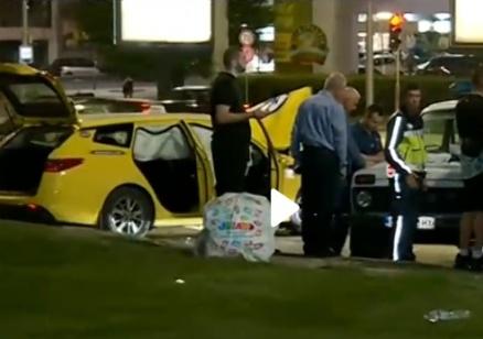 Тежка катастрофа с такси в София, петима са ранени