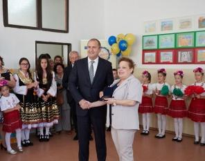 Президента и българската общност в Братислава