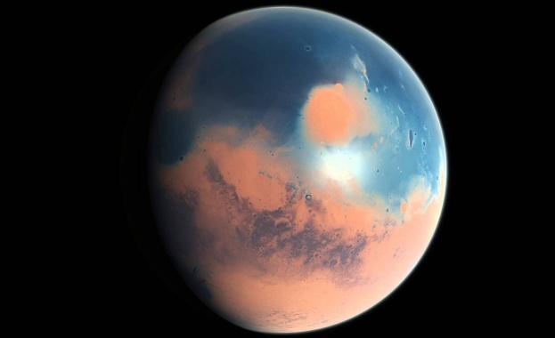 Твърдата кора на Марс се е формирала много бързо след