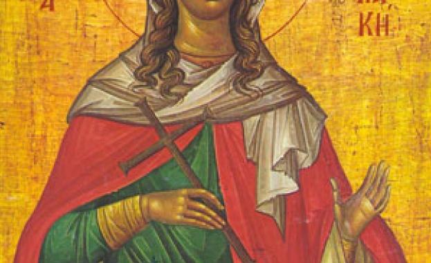 Св. вмчца Неделя Света великомъченица Кириакия е родена през III