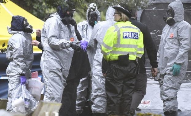 Британската полиция съобщи днес, че детективи вече са разговаряли с