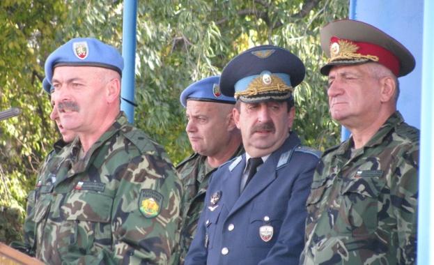 Срещи на представителите на Асоциацията на военните аташета с командващия на СКС и командирите на СВ и ВВС се проведоха днес