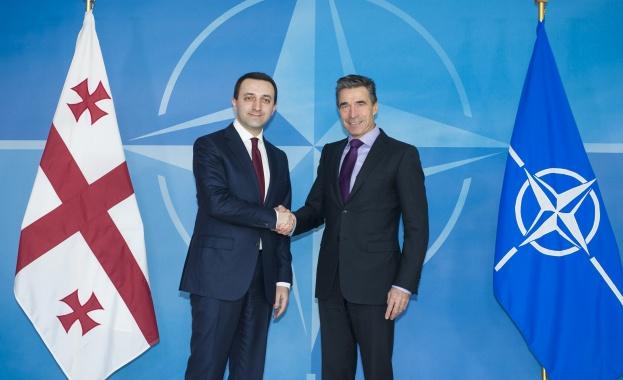 НАТО потвърди желанието си да приеме Грузия в алианса. Това