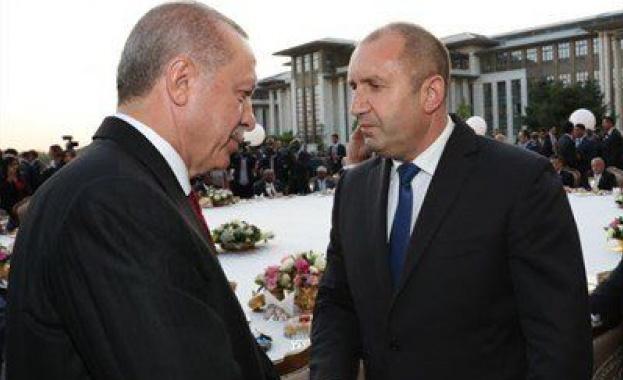 Румен Радев се среща с Реджеп Тайип Ердоган
