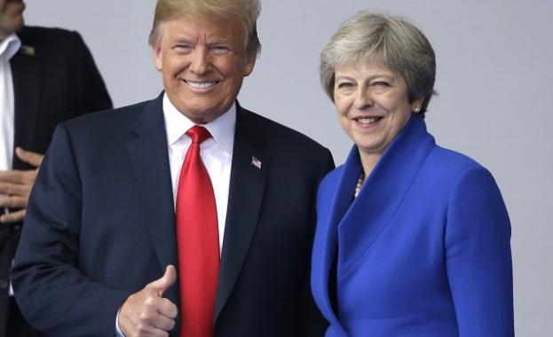 Лондон под тревога заради Тръмп