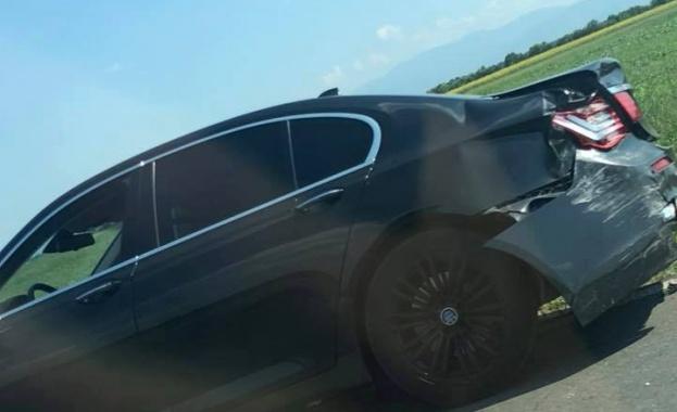 """Тежка катастрофа с турски автомобил на 238 км на АМ """"Тракия"""""""
