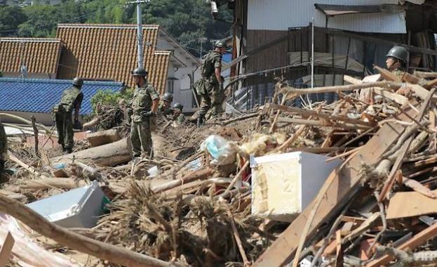 200 станаха жертвите на наводненията в Япония