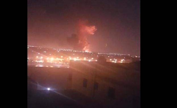 В района на летището в Кайро тази нощ избухна експлозия,