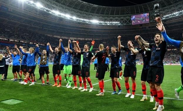 Хърватите глобени с 50 000 франка преди финала на Мондиал 2018