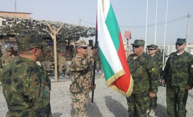 На официална церемония в Кандахар Афганистан 36-ят български военен контингент