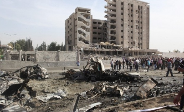 Израелски бойни самолети нанесоха вчера ракетен удар по позиции на