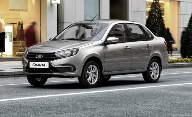 LADA ще представи новия седан Granta - първият модел на