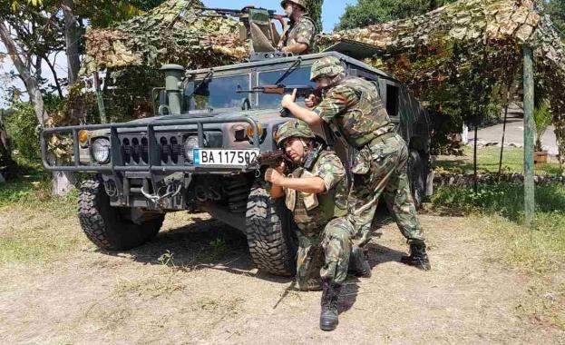 Военнослужещи от 78-ми батальон – София и механизиран взвод от