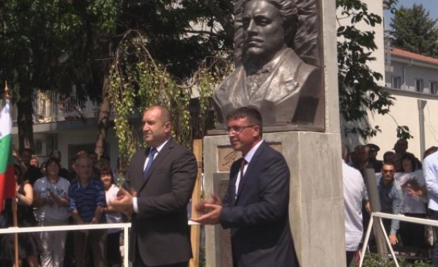 Паметник на Васил Левски беше открит в село Руен. Това