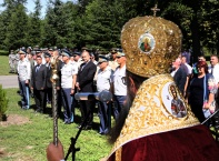 Освещаването на храм в авиобаза Граф Игнатиево