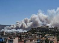 Пепел след огнения ад в Гърция