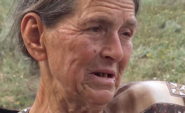 Баба Дора от с. Шарково, ден след като евтаназираха животните
