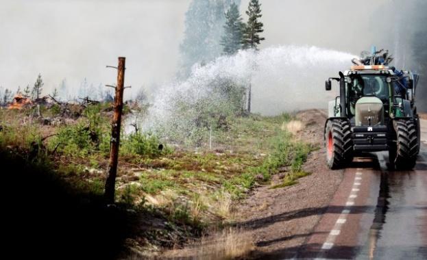 Шведските власти заявиха днес, че 25 пожара продължават да горят