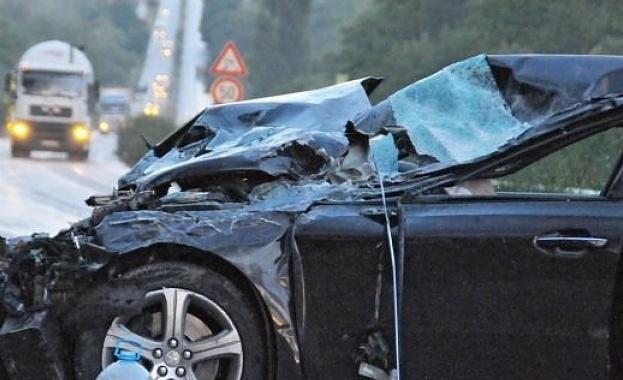 Млада жена е загинала след катастрофа на Подбалканския път рано