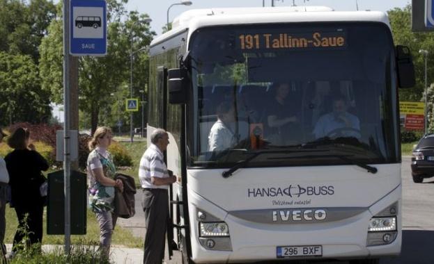 Естония стана първата европейска страна, предлагаща безплатно пътуване с автобуси