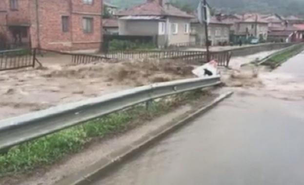 Остава в сила бедствено положение в Пирдоп, което беше обявено