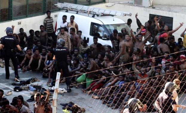 Около 400 мигранти от Субсахарска Африка успяха да се доберат