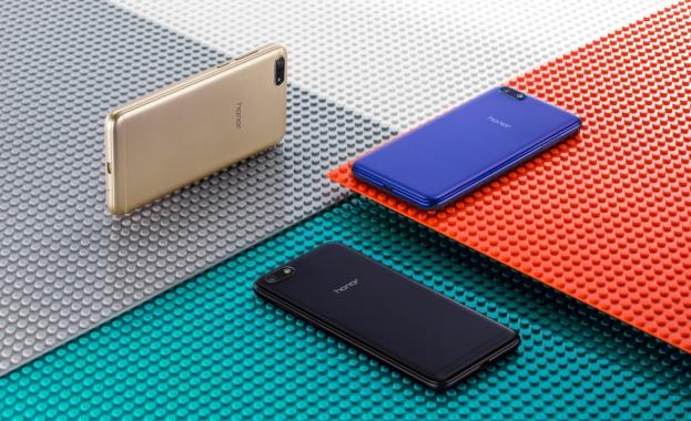Honor 7S – най-добрият смартфон с Fullview дисплей и цена под 300 лв., вече е наличен в България
