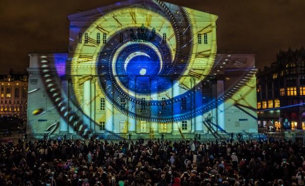 """Уникален международен светомузикален фестивал """"Circle of Light от 21 до 25 септември в Москва (видео)"""