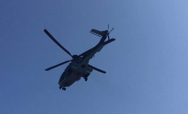 И хеликоптер ще дебне джигитите на пътя