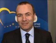 Кандидатът за председател на ЕК Манфред Вебер пристига в София