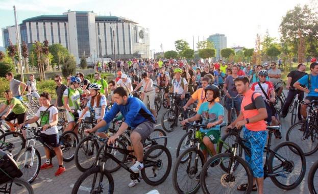 Велосипедисти излизат на протест в София