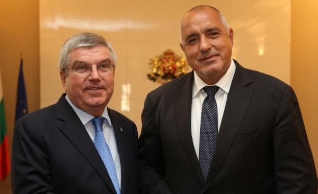 Томас Бах се срещна с Бойко Борисов