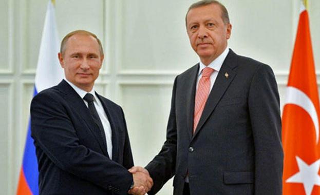 Путин и Ердоган обсъждат сирийския въпрос утре в Сочи