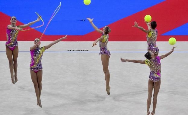 Бронз от многобоя за ансамбъла ни по художествена гимнастика