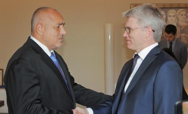 Борисов се срещна с руския спортен министър Павел Колобков