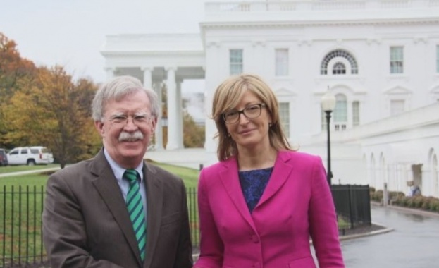 Захариева и Болтън обсъдиха сътрудничеството в сигурността