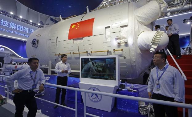 Пекин показа как ще изглежда Китайската Космическа Станция