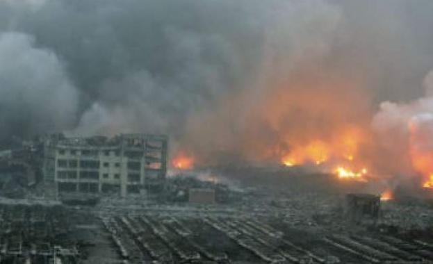 Химически завод избухна в Китай