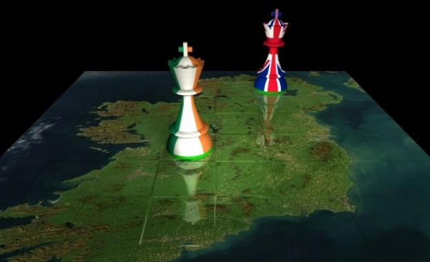 ЕС ще иска митническа граница в Ирландско море, ако няма сделка за брекзит