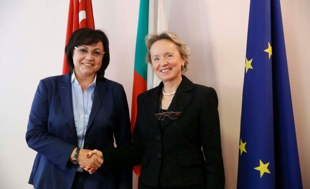 Корнелия Нинова и посланика на Австрия обсъдиха Пакта за миграция на ООН
