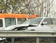 Двама ранени при катастрофа с патрулка на пътя София - Варна