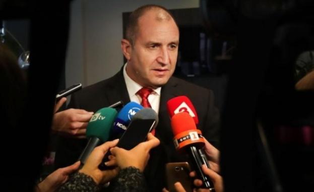 Радев покани премиера Борисов, за да представи визията си за справяне с корупцията