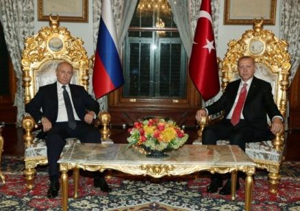 """Путин: """"Турски поток"""" ще стане важен фактор за общоевропейската енергийна сигурност"""