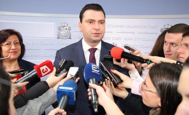Калоян Паргов: Цялата отговорност по управлението и контрола в Столична община носи кметът Фандъкова