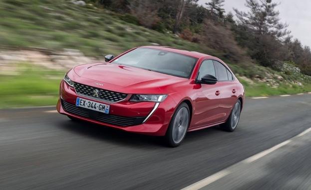 Новият Peugeot 508 спечели наградата за Дизайн на годината в конкуренция с 33 автомобила