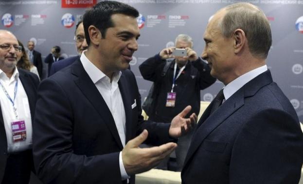 """Ципрас и Путин ще говорят за маршрута на """"Турски поток"""" в Москва"""