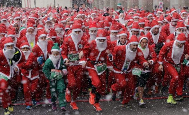 Маратон на Дядо Коледовци в Германия